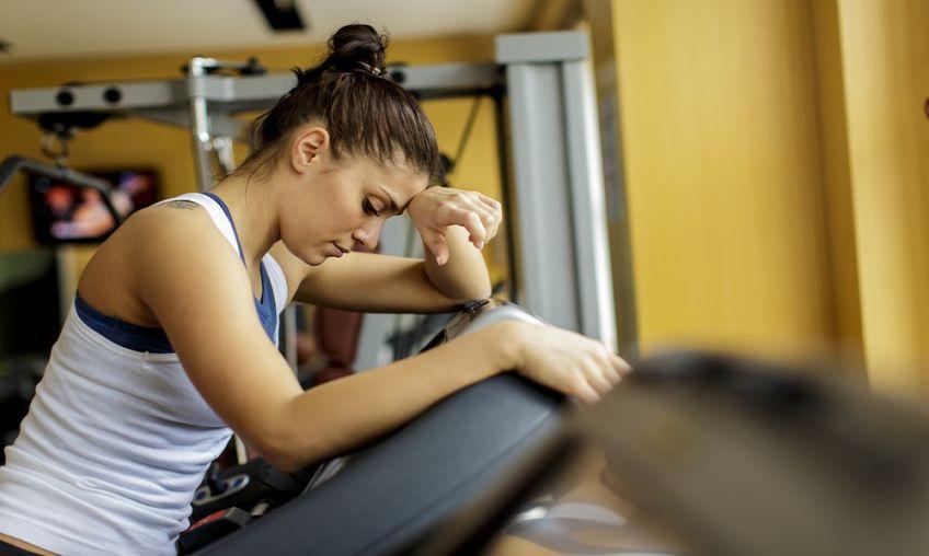 Image result for خسته شدن ورزش