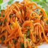 روش تهیه سالاد هویج تند